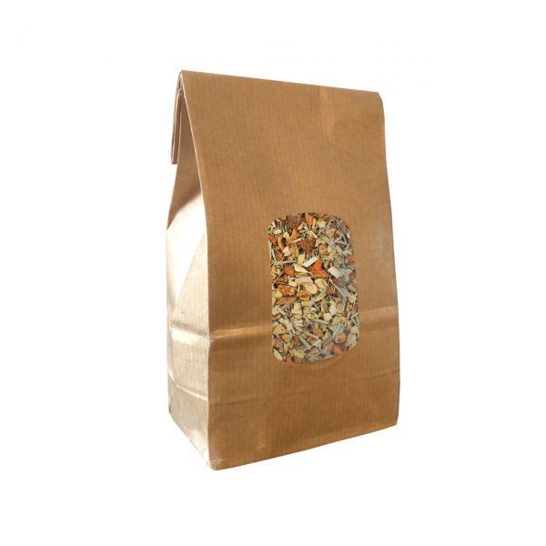 Mezcla herbal. Ventisca angliru. menta lemongrass manzana